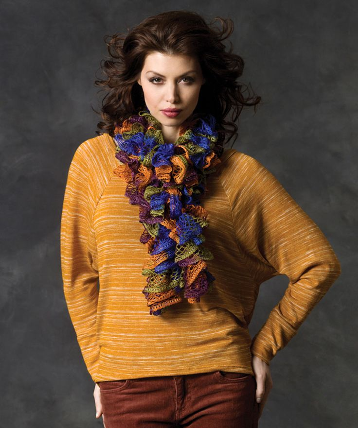 Sashay Yarn Knitting Patterns : 10 best images about Scarf on Pinterest Loom, Flower shops and Knit stitches