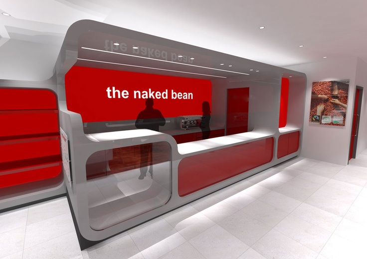 The Naked Bean - Coffee shops concept designs by www.jamstudio.uk.com