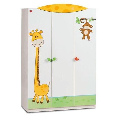Szafa 3-drzwiowa Baby Safari.
