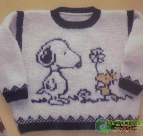 漂亮儿童毛衣带图解 - 停留 - 停留编织博客
