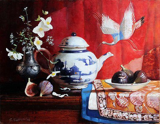 Still Life - Chineese Teapot by  Snejana Slavova