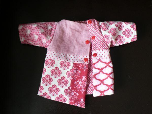 Tuto veste patch pour poupée (existe en version enfant et adulte aussi) - lalimaya