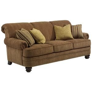 Bay Bridge Traditional Rolled Back Sofa By Flexsteel At Darvin Furniture