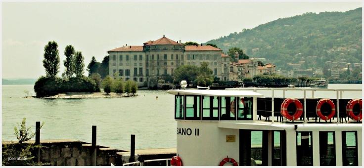 Vista de Isola Bella desde la Isola dei Pescatori Fotografía: Jose Antonio Abate