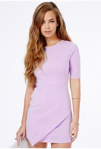 Lovely lilac dress from Missguided