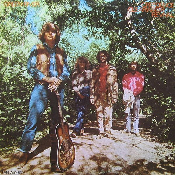 Creedence Clearwater Revival - Green River (Vinyl, LP, Album) at Discogs  1969