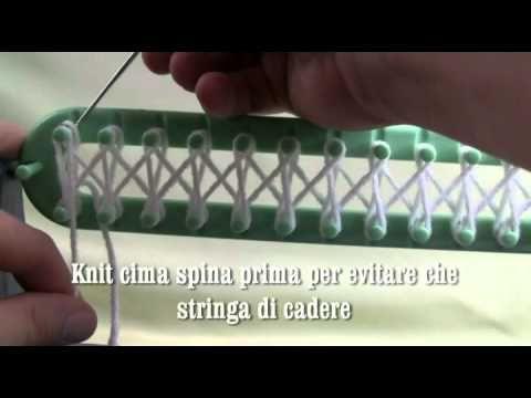 Bernat métier à tricoter tutoriel - La Foule Crochet - YouTube