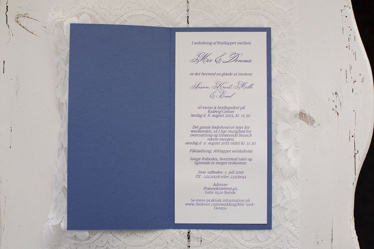 Simple Lace DYI wedding invites - Fotos from http://tinaliv.com/
