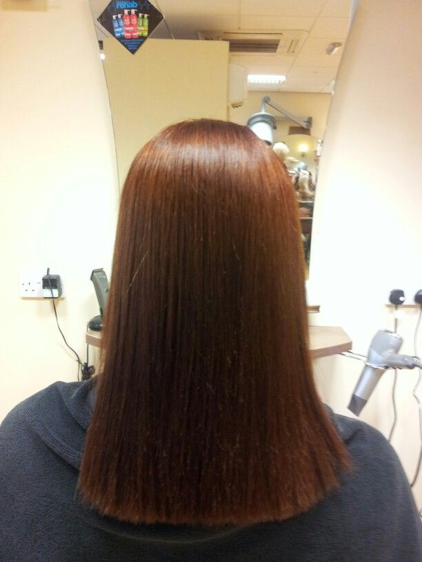And afer #yuko #hair #straightening #hair #academyhairsalon