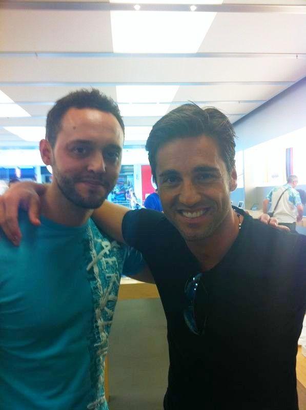 Con David Bustamante