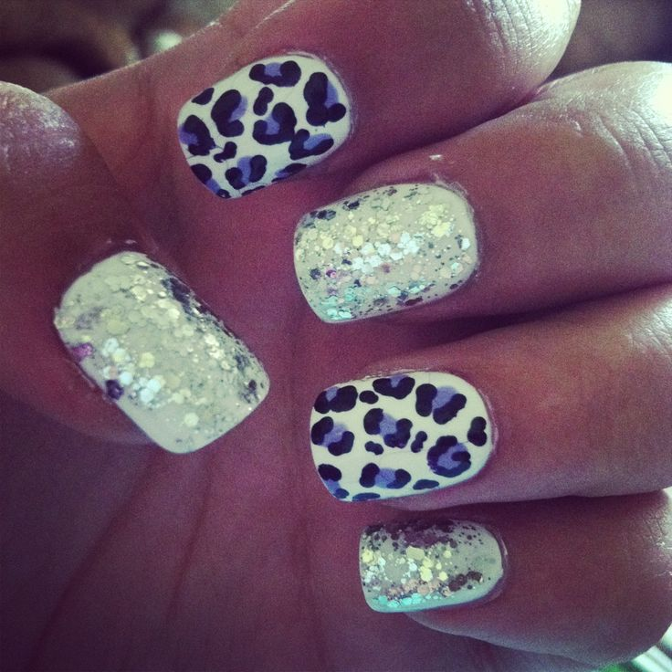 50 Cheetah Nail Designs - Best 25+ Red Cheetah Nails Ideas On Pinterest Red Nail Designs