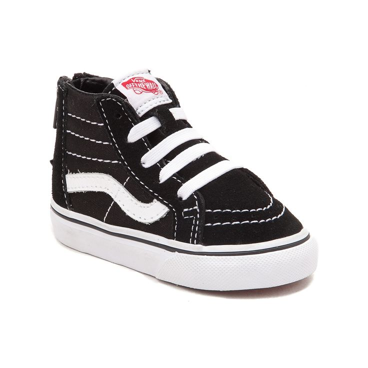 boys black velcro vans