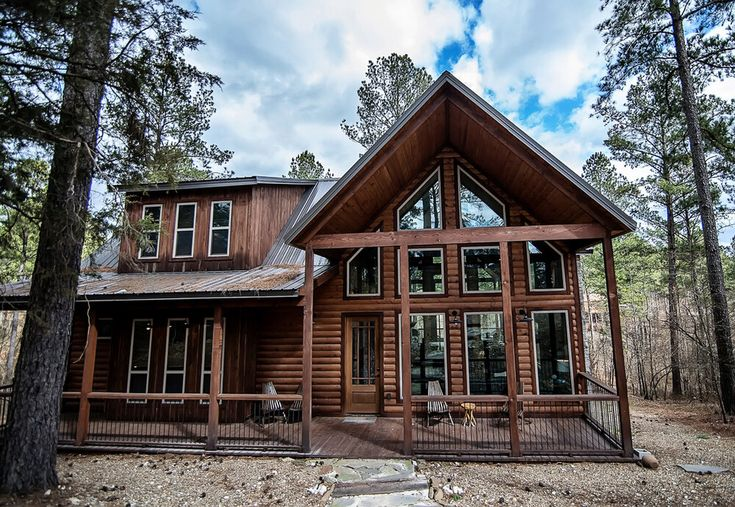 Across The Universe Kiamichi Cabins Cabin Outdoor Gas Fireplace Indoor Gas Fireplace