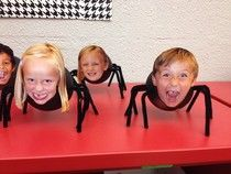 Mrs. Butterfield's First Grade: Ahhhhhh! Spider invasion!!!