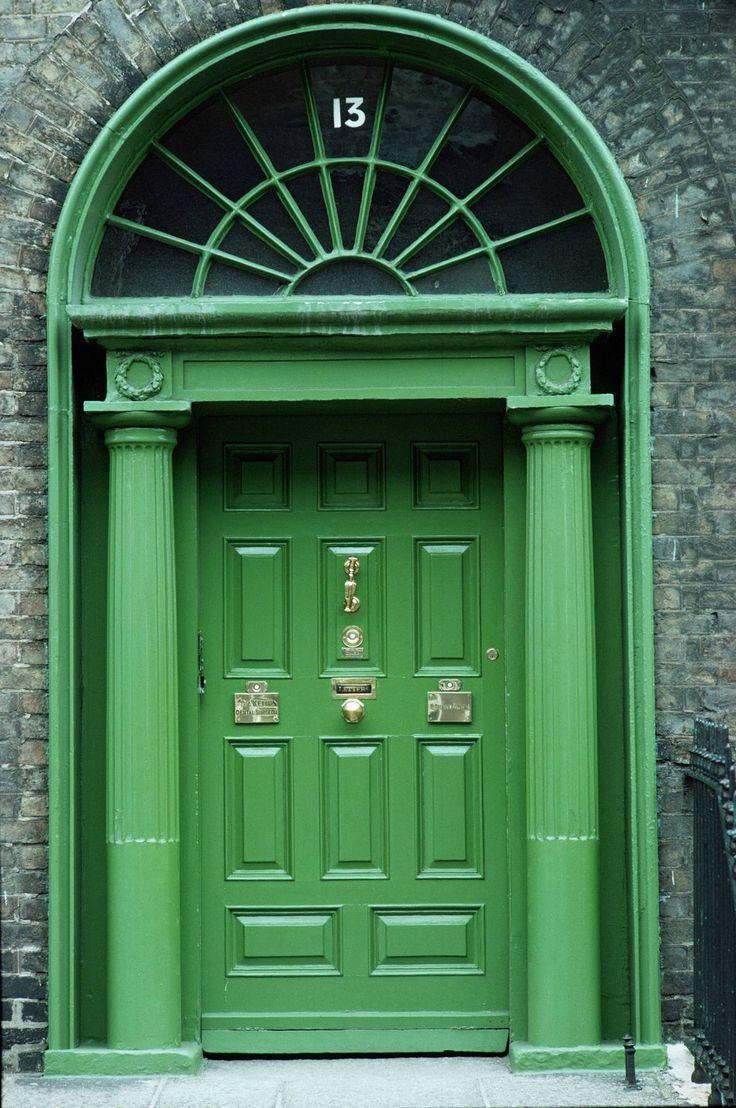 georgian doorway . ireland