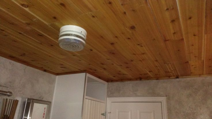 Cedar Plank Ceiling In Our Utility Room New House