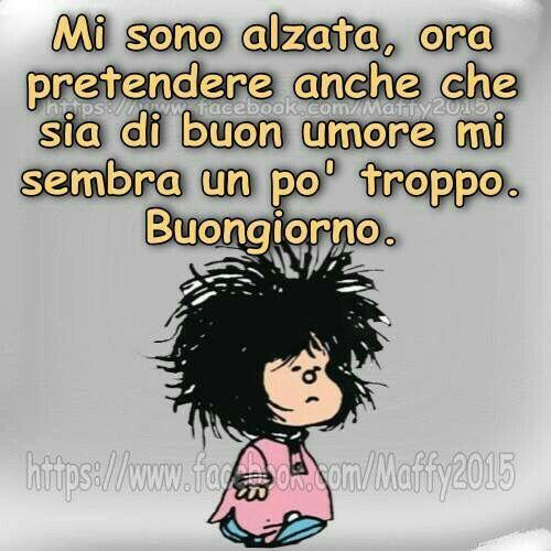 Buongiorno #buongiorno #mafalda