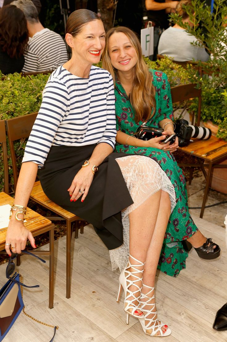 Jenna Lyons and Jennifer Meyer Maguire
