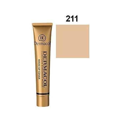 Dermacol Cover Foundation SPF 30 Color 211 (Make-up Cover Waterproof) 1 oz