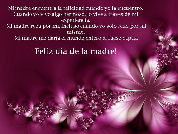 feliz dia de las madres | Feliz día de las Madres.. | El Burócrata.com