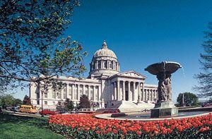 Missouri's State Capitol in  Jefferson City