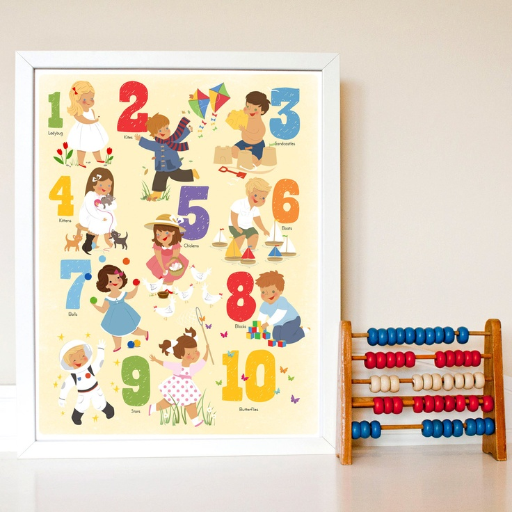 25 best 123 images on Pinterest   Baby rooms, Child room and Kids rooms