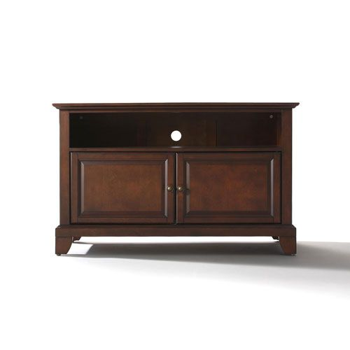 Evelyn 42-Inch TV Stand in Vintage Mahogany Finish