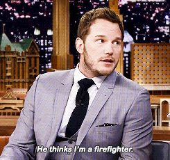 And shared this insanely cute information about his son. | 31 Times Chris Pratt Was Perfection In Human Form