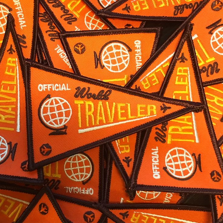 IdeaStorm Media Store — World Traveler Patch - Vintage Edition