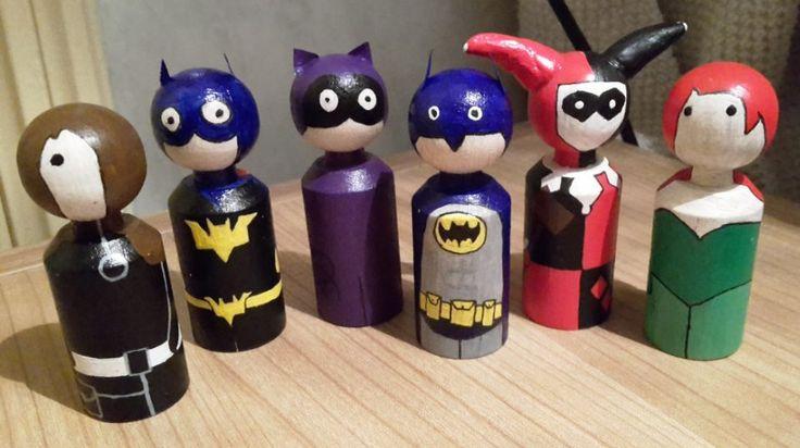 W i p batman spielfiguren spielfiguren basteln spiele und fimo - Spielfiguren basteln ...
