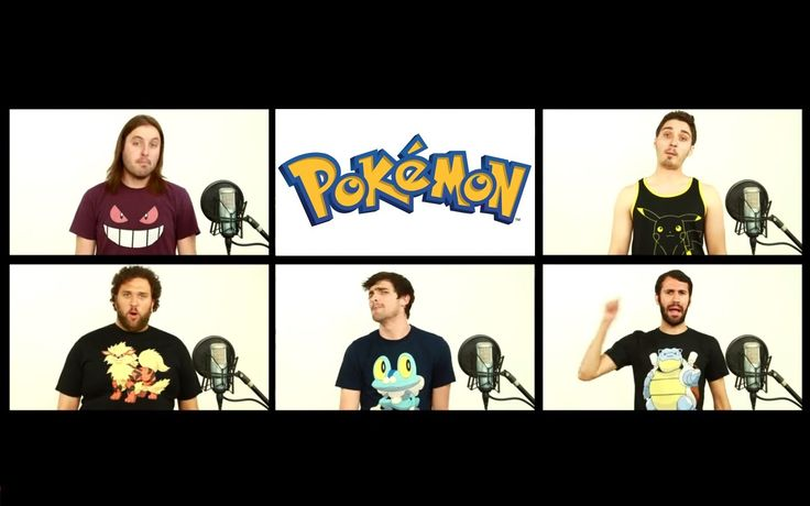A Geeky A Capella Cover of the 'Pokemon' TV Show Theme Song by The Warp Zone and Smosh