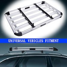 Universal Sturdy Car Roof Cargo Carrier Luggage Basket Rack Top Crossbars