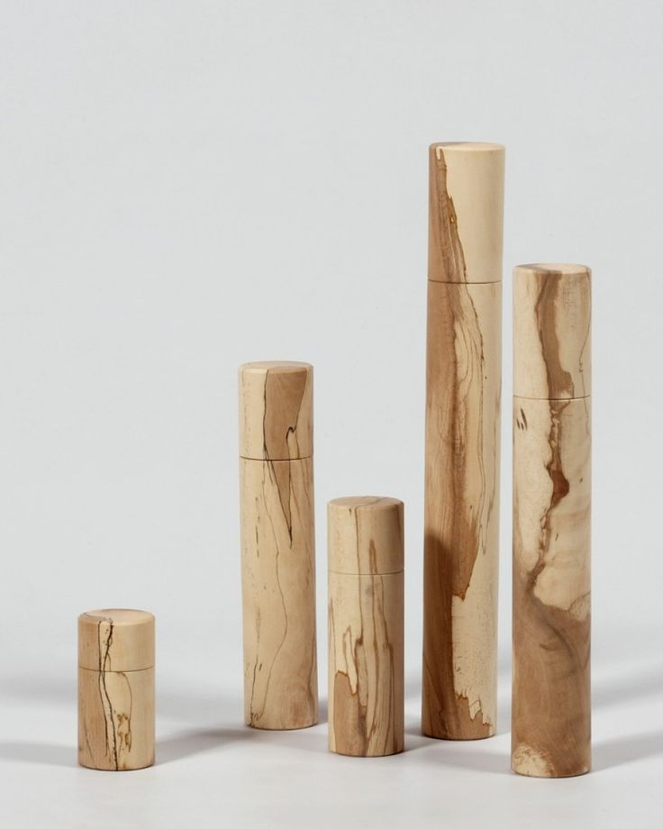 Peppermills | Spalted Beech | Matt Jones | Limited Edition | Shop | Design and Craft | Gifts | Makers&Brothers | Makers & Brothers | EDITIONS  | Exclusive