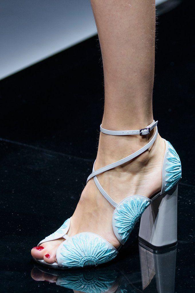 Best Runway Shoes at Paris Fashion Week Spring 2017 | POPSUGAR Fashion Photo 30