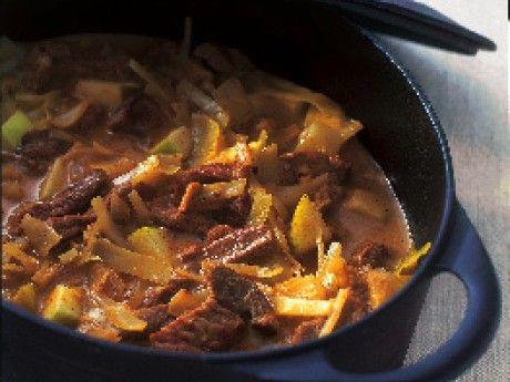 Currygryta med fläskkött