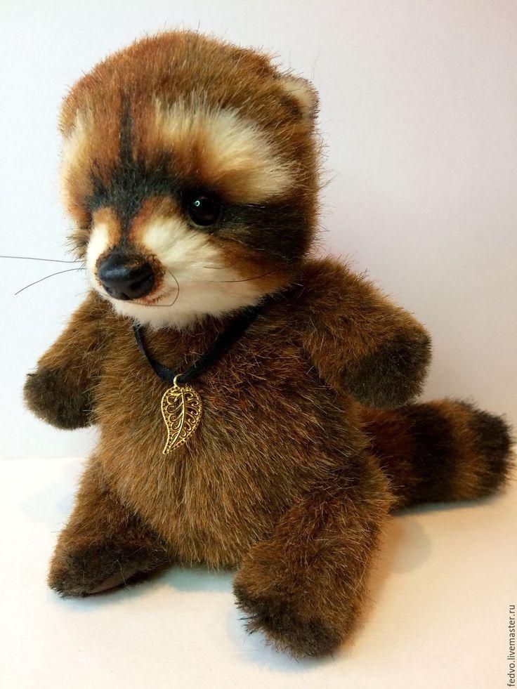 Купить Енот Феничка(15 см) - коричневый, мишки тедди, друзья тедди, друзья мишек тедди