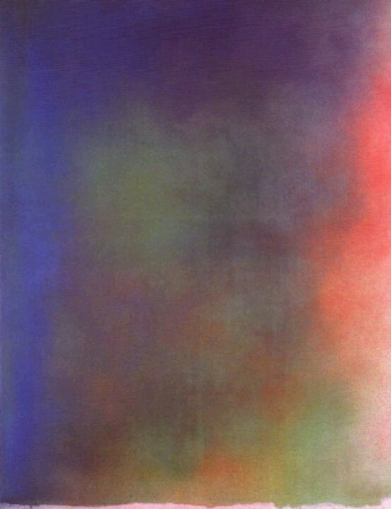 Jules Olitsky, color field painting