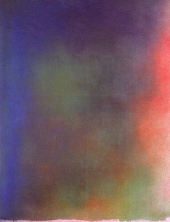 Jules Olitski Spray Paintings
