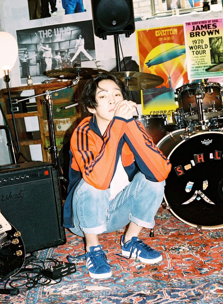Nam Taehyun for Adidas CAMPUS campaign   #namtaehyun #taehyun #southclub #korean #singer #model #male #adidas #2017