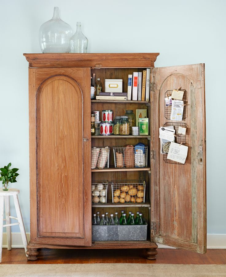 Armoire Pantry on functional kitchen design ideas