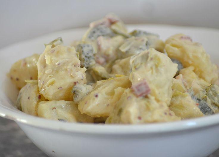 Aardappelsalade met mosterd