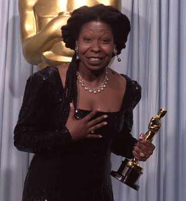 Today in Black History, 11/13/2013 - In 1994 Whoopi Goldberg became the first African American female to host the Academy Awards. For more info, check out today's notes!