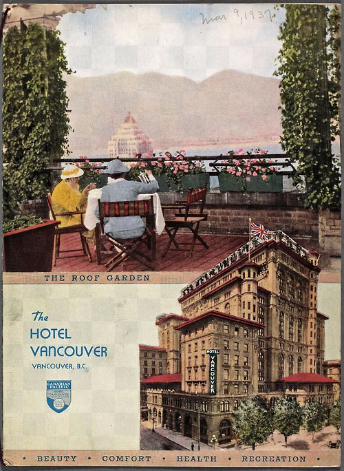The new Vancouver Hotel