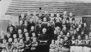 Dictator Adolf Hitler was born in Braunau am Inn, Austria, on April 20, 1889, and was the fourth of six children born to Alois Hitler and Klara Polzl. Read more at http://www.oldpicz.com/adolf-hitler-as-a-child/#y56KsKGY8bEArRFW.99