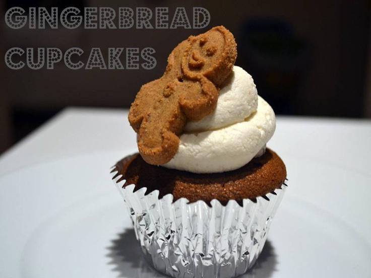 Gingerbread Cupcakes | Christmas & Winter | Pinterest
