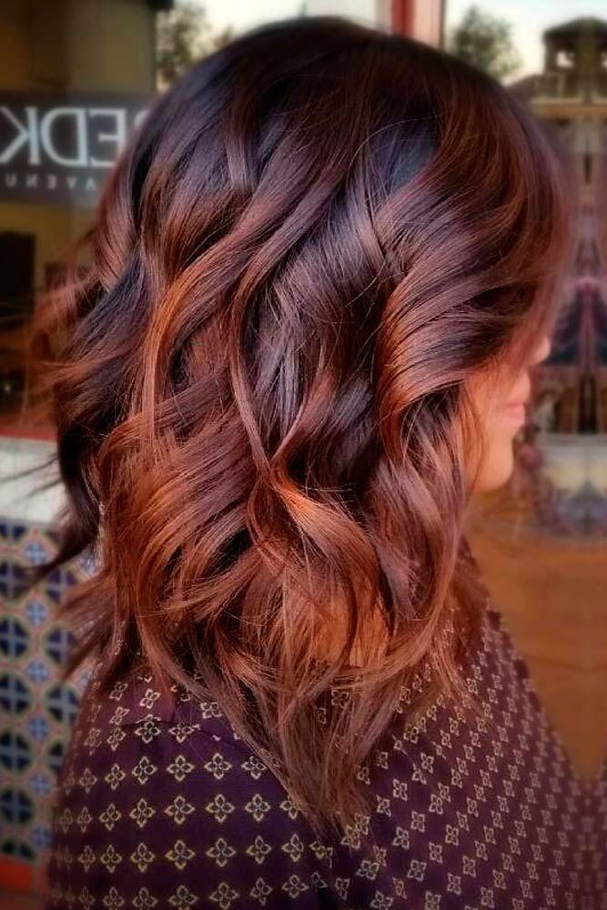 Lange Bob-Frisuren, die Sie jetzt ausprobieren sollten - #Bob #Bob-Frisuren #Jetzt #Länge #Um ... #Farbe #Frisur #Haar #Rot-Frisuren