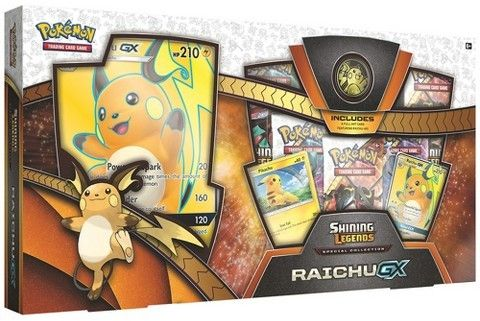 Pokemon Trading Card Game Shining Legends Special Collection Raichu GX Box