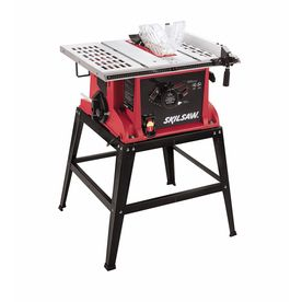 Skil 15-Amp 10-in Table Saw with Fixed Stand - my first table saw.  Great for small projects, not great for long cuts
