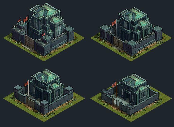 ArtStation - Iron Commander - World Map, Yusuf Artun
