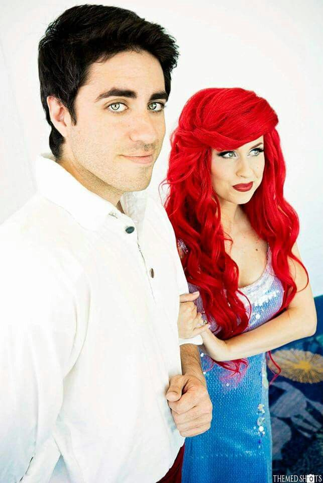 Traci hines ariel and eric